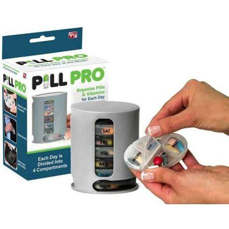 Органайзер кутия за лекарства, хапчета и витамини Pill Pro