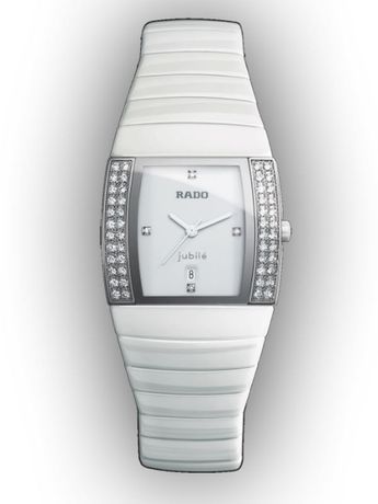 Дамски часовник Rado Sintra Jubile White Ceramic Diamonds