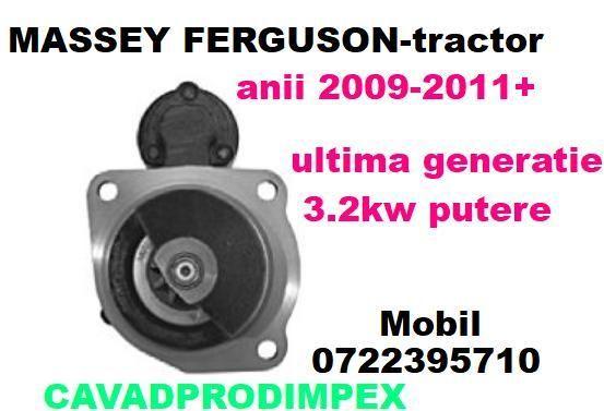 Electromotor pentru tractor MASSEY FERGUSON ,ZETOR,VALMET