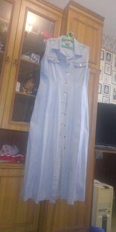 Джинсовое платье срочно