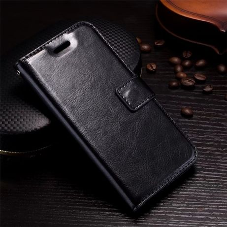 Husa Samsung S21 Ultra, piele fina, tip portofel,magnetica,dif. culori
