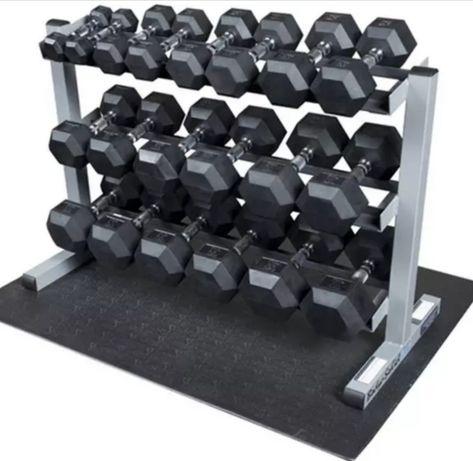 Продаётся новые шестигранные гантели (гексагональные), веса от 3-50 кг