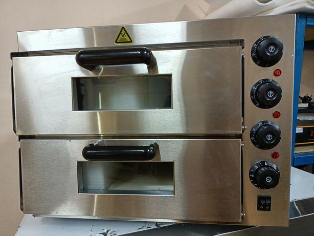 Пицца печь 2х секционная электрическая
