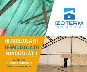 Izolatie cu Spuma Poliuretanică /Nu Celuloza Bazaltică/Izolații Spuma