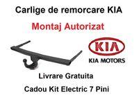 Carlig Remorcare KIA Sportage 2010-2016 - Livrare Gratuita - Omologat