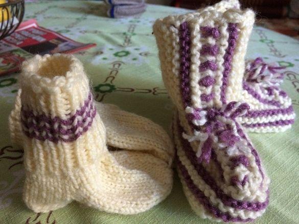 Детски и Бебешки вълнени чорапи