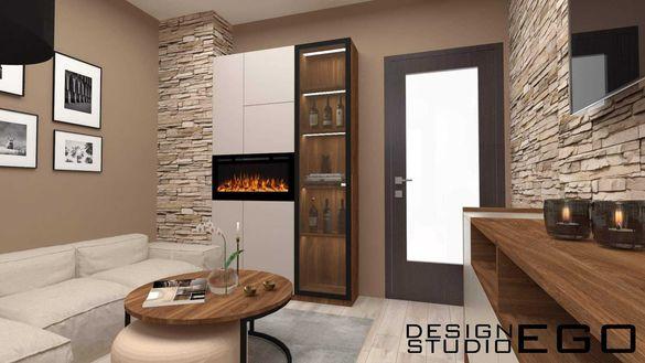 Дизайн на мебели по индивидуален проект Design Studio Ego