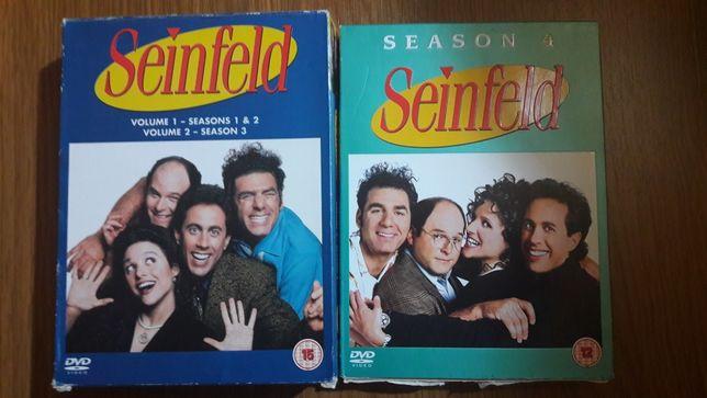 Dvd-uri cu primele 4 sezoane din Seinfeld