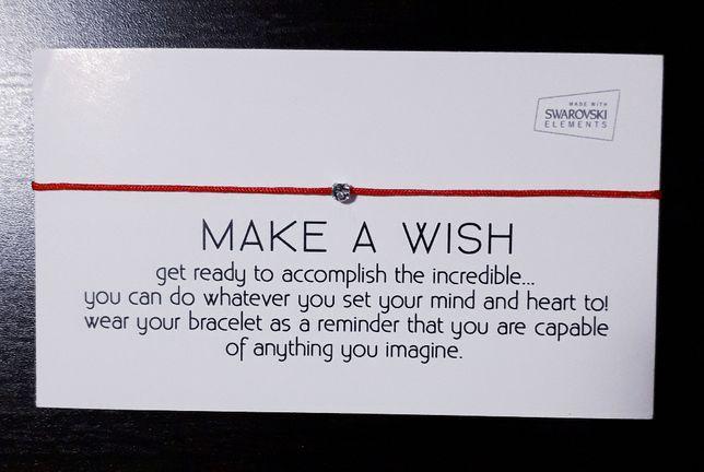 Bratara Make a wish cu cristal Swarovski