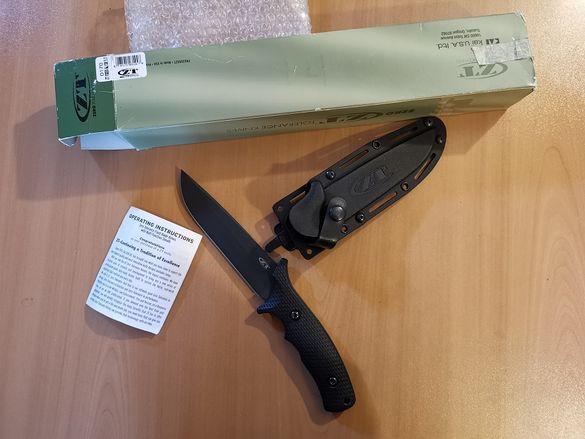 Продавам ZT0170 / Zero Tolerance 0170 Military Combat Fixed Blade for
