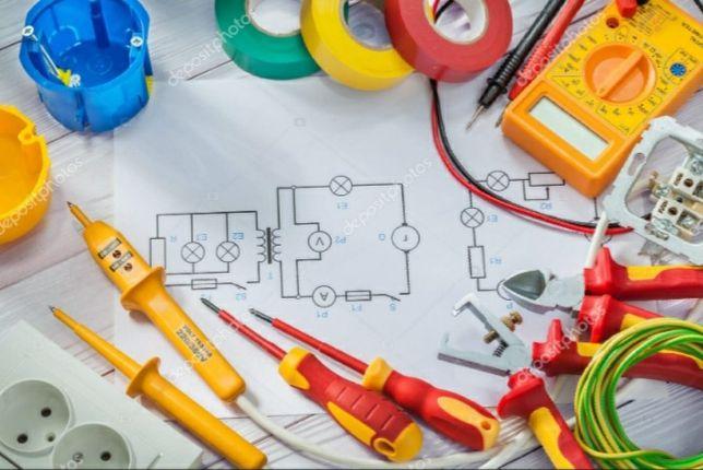 услуга электрика качественно