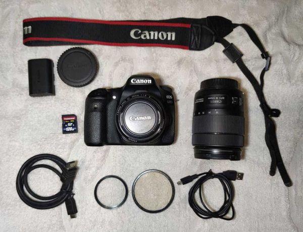Canon 80D + 18-135 + 50 1.8 Комплект