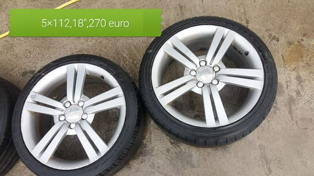 Vand jante 16.17 18 si 19 inch, 5× 112 toate