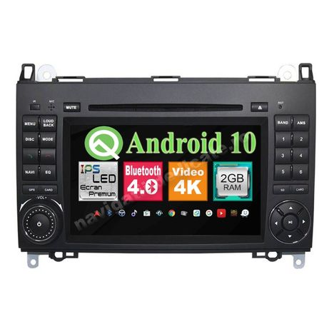 Navigatie Android 10 Mercedes A Class Vito Viano Sprinter VW Crafter