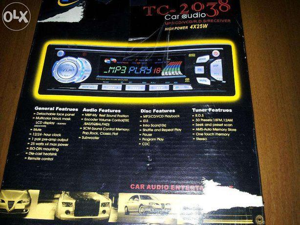 Radiocasetofon cu CD/Mp3/VCD/RDS/RECEIVER