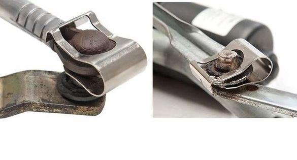 Ремонтна щипка за лостовия механизъм на чистачките. Цената е за 2 бр.