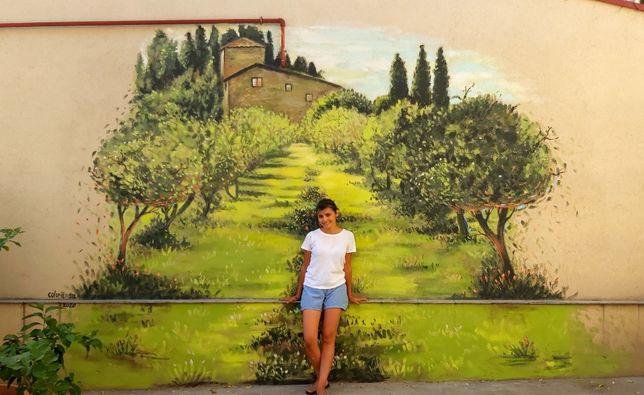 Iti pot picta perete exact cum iti doresti |Pictura murala pentru tine