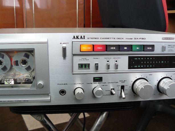 Deck Akai gx80 si Technics m68 Vintage