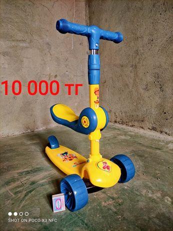 Самокат, Беговел ( велосипед, авто, игрушка, игра, самолет,  детский)