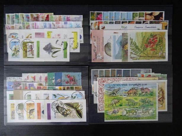 Timbre tematice Flora si Fauna , serii si colite ( Lot 207)