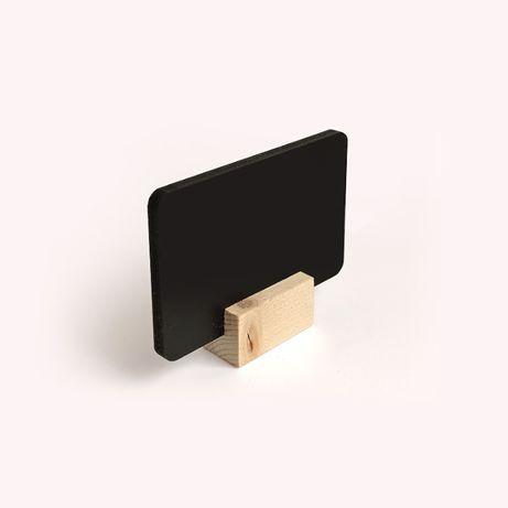 Ценник меловый, черный, размером с визитку
