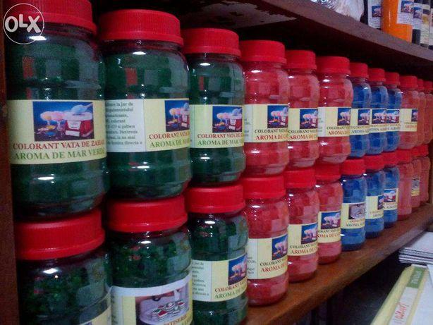 Colorant pentru vata de zahar. Arome pentru vata de zahar
