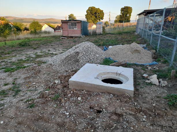 Vînd teren cu proiect de casă și autorizație de construire