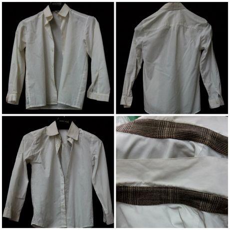 Детски бели ризи за 10-годишно дете 140см ръст