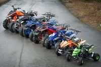 ATV 125cc Balcan Race, Nou cu garantie Import Germany+Casca BONUS