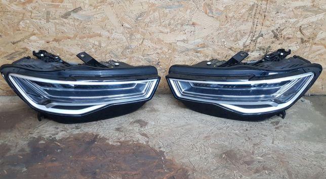 Audi A6 C7 set faruri far stanga dreapta full led matrix stopuri spate