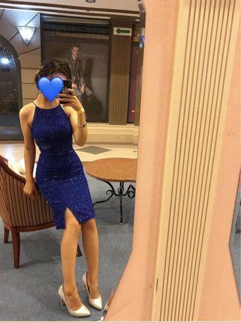 Вечерный платье. Почти новый .