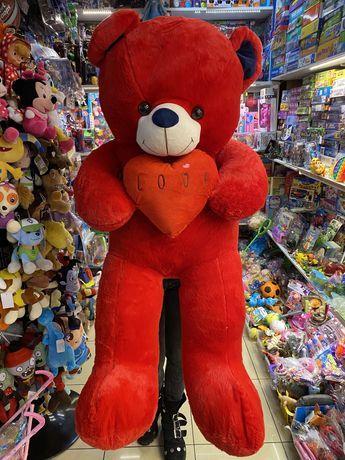 Urs de plus rosu cu inima