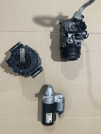 Electromotor, alternator, compresor ac clima, mercedes w205, w218