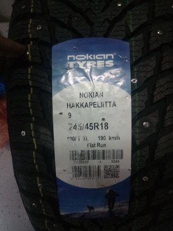 Продам новые диски с шинами бмв оригинал на резине 2 колеса