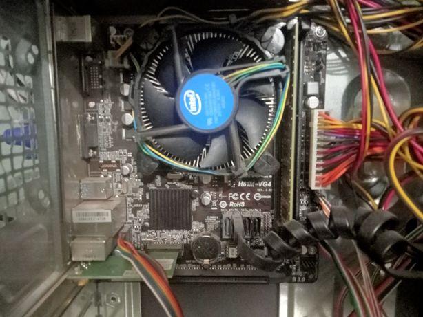 Материнская плата S1150 H81 с процессором