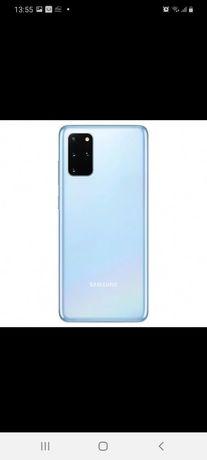 Capac baterie spate Samsung S20 blue