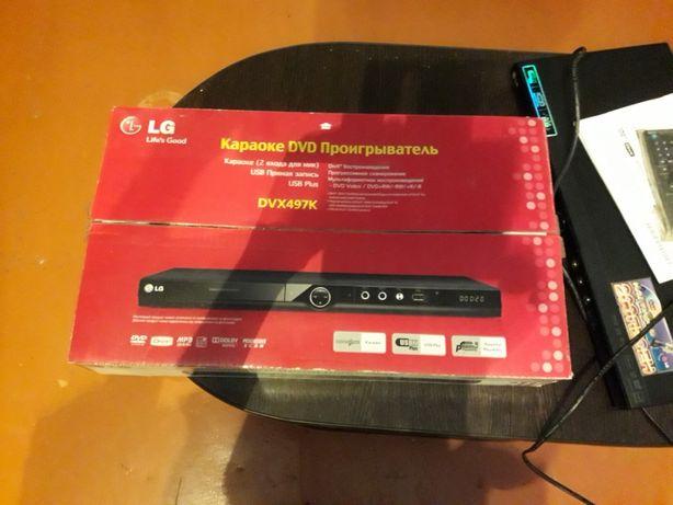 Продам новый DVD проигрыватель DVX 497K+3G USB модем Kcell ZTE.