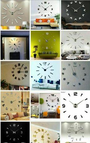 Настенные 3D часы ХИТ товар 3д часы для декора не обычн - дизайн!!!