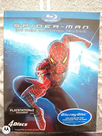 Blu-ray disc Spider-man compatibil PS 3