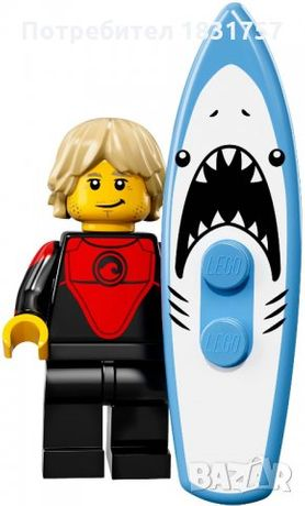 Collectable MinifiguresSeries 17 Professional Surfer