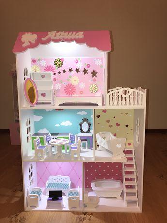 Кукольные домики с подсветкой
