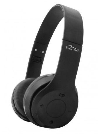 Bluetooth 3.0 слушалки с вграден микрофон, FM радио и microSD четец на