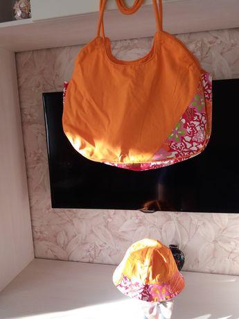 Пляжная сумка в комплекте с панамкой