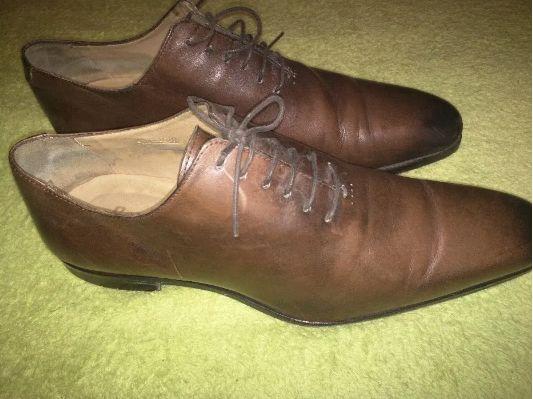 pantofi premium office Bexley hand finish nr 45