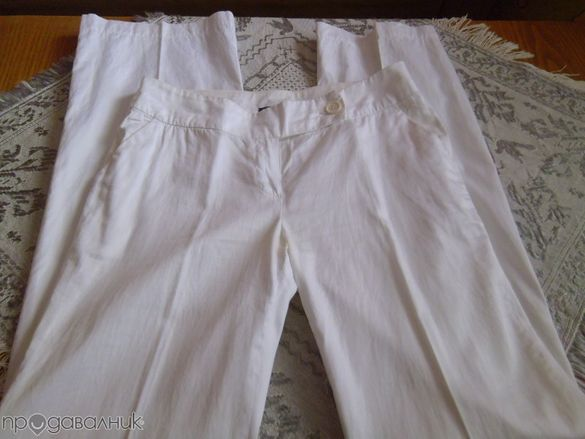 летен бял панталон
