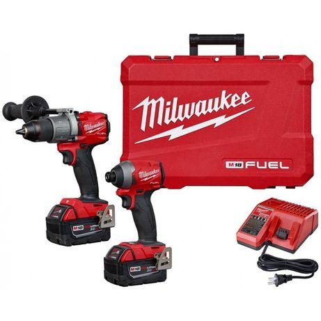 Milwaukee Fuel 2997-22 gen 3 FPD2 + FID2, Impact 2853 + filetanta 2804