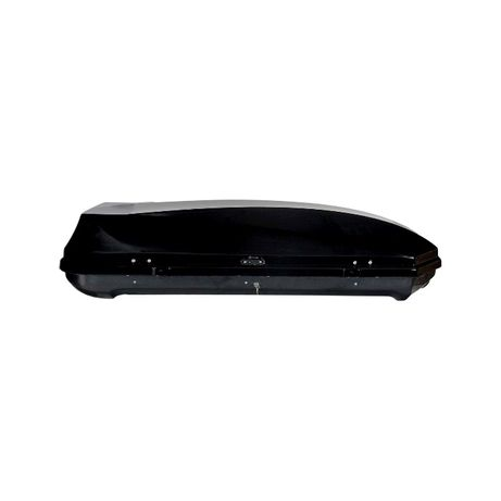 Автобокс Autoform, Кутия за багаж, Черен/Бял, 450 литра - ТОП ЦЕНА