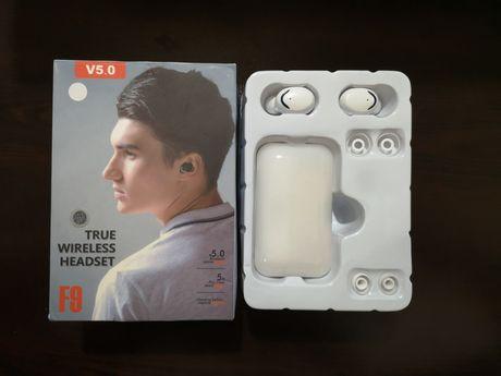 Нови блутут безжични слушалки пълен комплект