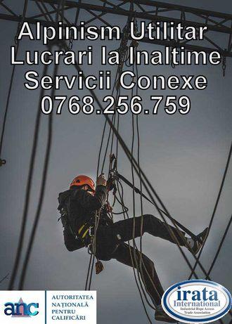 Alpinism Utilitar / Lucrari la Inaltime / Servicii de Calitate