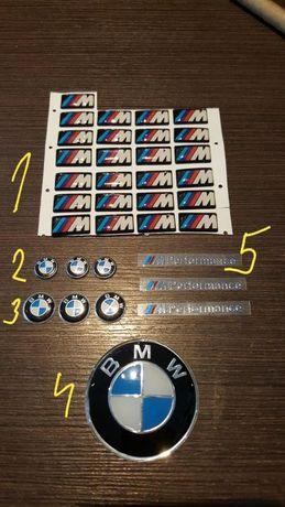 Емблема(стикер,лепенка) за джанти на БМВ за волан и за ключ